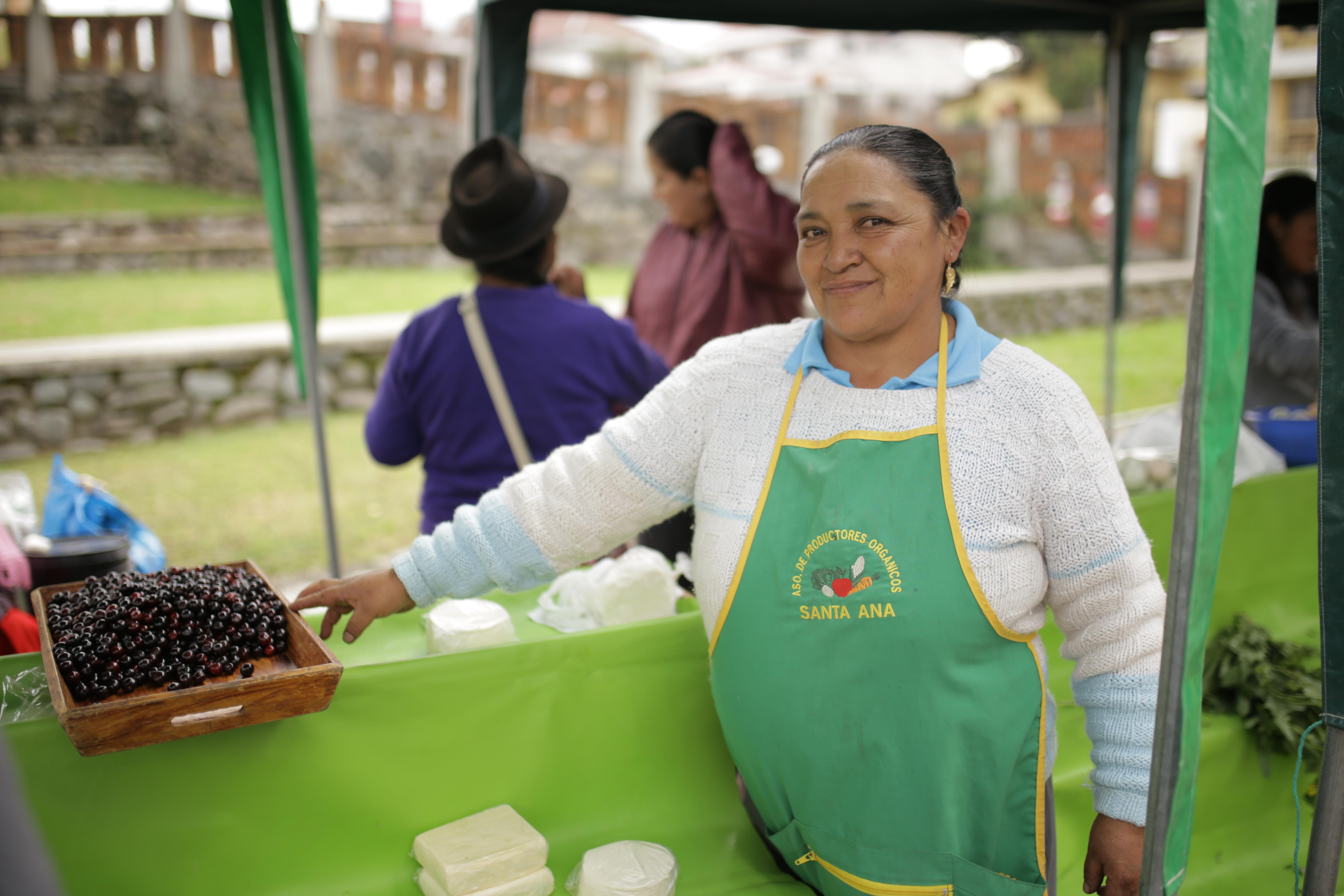 35 asociaciones de la Red Agroecológica ofrecen sus productos en dos ferias