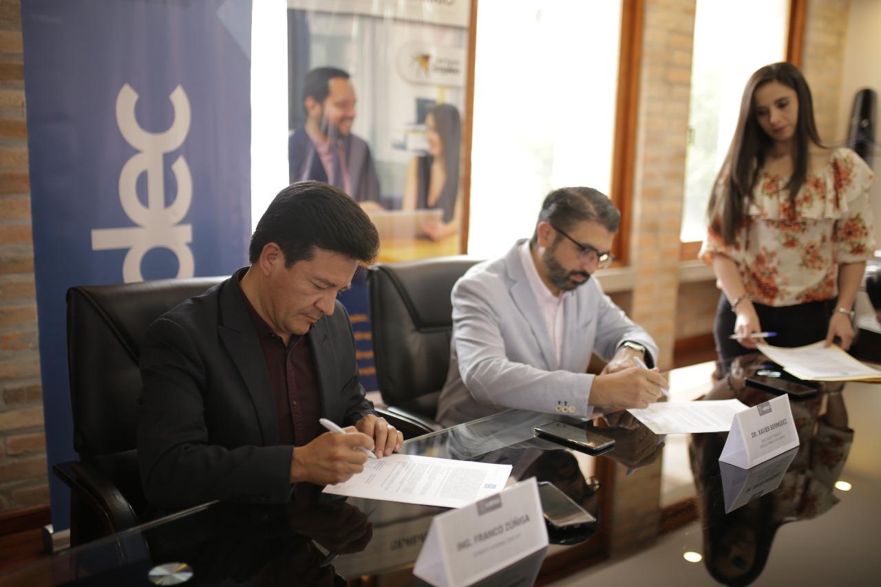 Ministerio de Trabajo y EDEC EP firman renovación de convenio