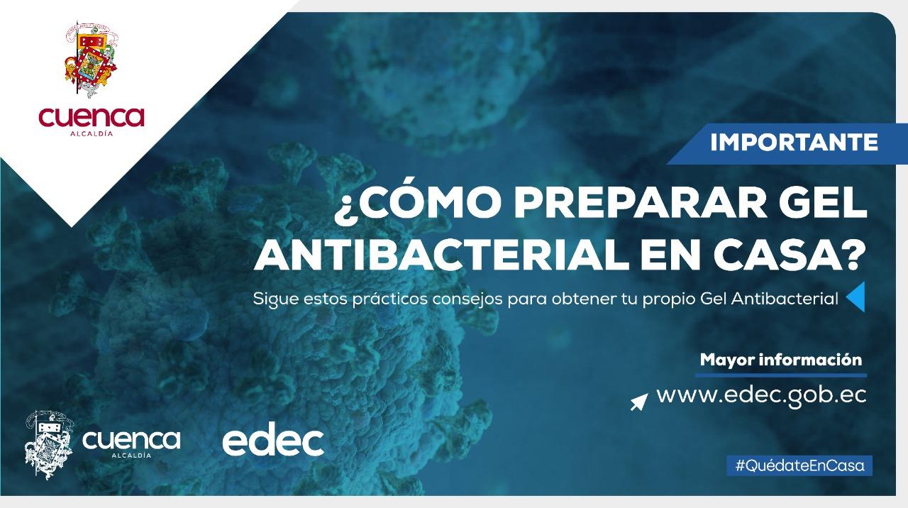 ¿Cómo preparar gel antibacterial en casa?